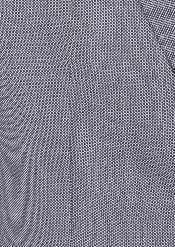 Costume 2 pièces Slim en laine unie gris clair - Father and Sons 41015