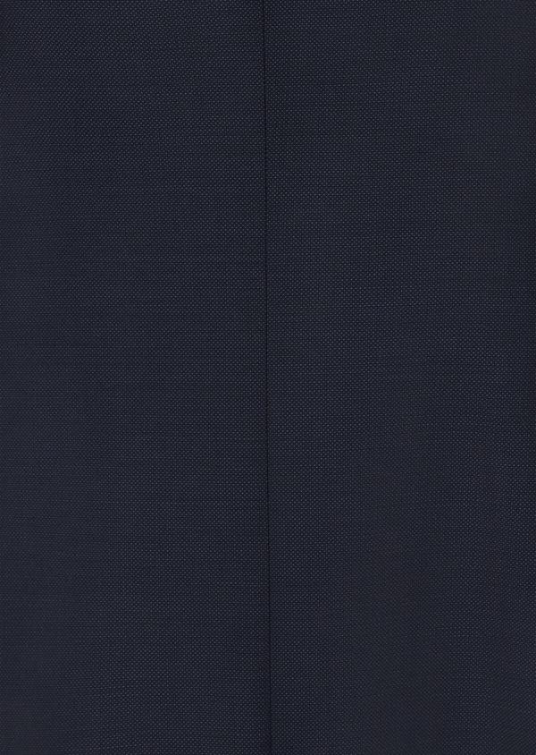 Costume 2 pièces Slim en laine unie bleu marine - Father and Sons 41036
