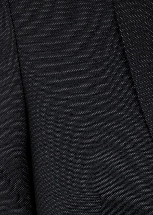 Costume 2 pièces Slim en laine unie noire - Father and Sons 41022
