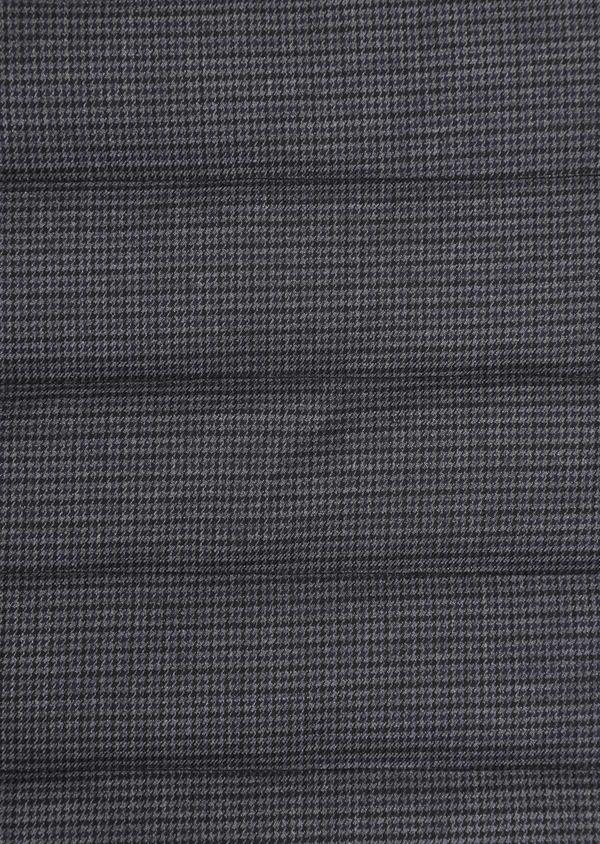 Doudoune light sans manches noire à motifs géométriques réversible - Father and Sons 35983