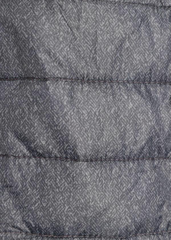 Doudoune light manches longues bi-matière grise unie - Father and Sons 36693