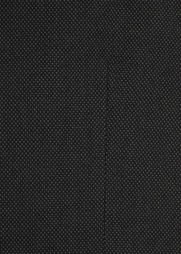 Gilet casual en coton mélangé à pois vert kaki - Father and Sons 36930