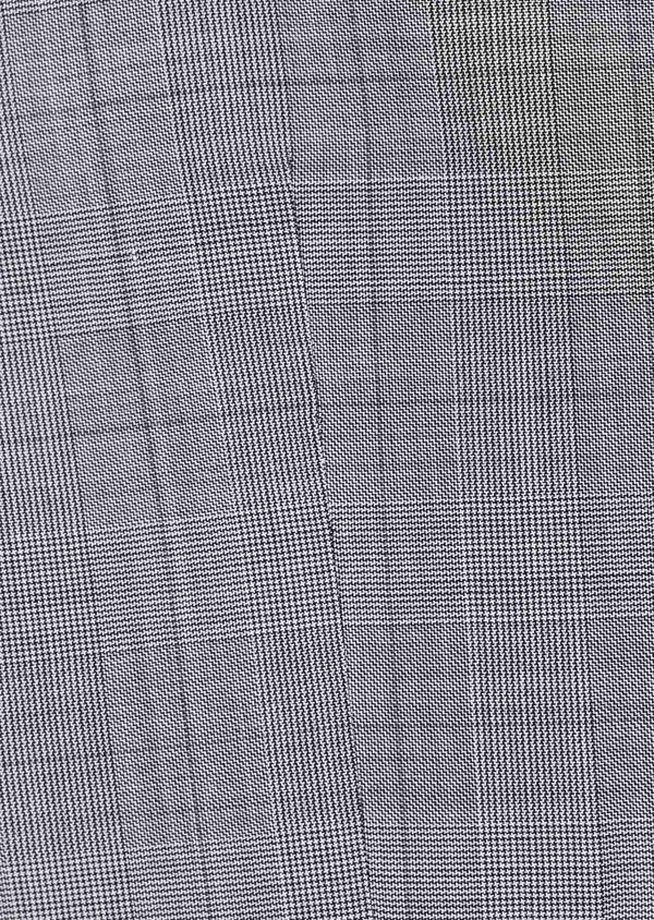Gilet de costume en laine gris clair Prince de Galles - Father and Sons 39072