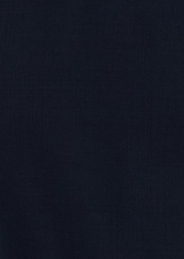 Gilet de costume en laine Vitale Barberis Canonico bleu marine Prince de Galles - Father and Sons 20014