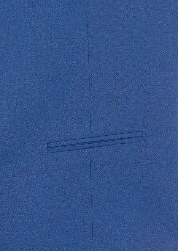 Gilet de costume en laine unie bleue - Father and Sons 39136