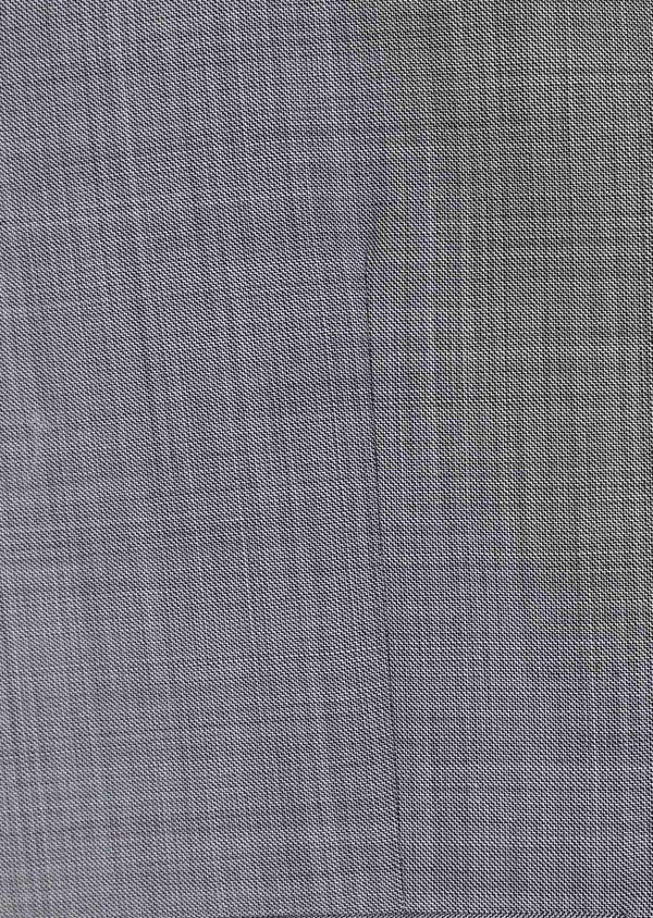 Gilet de costume en laine unie gris clair - Father and Sons 39077