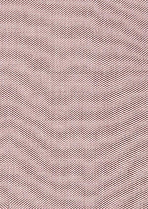 Gilet de costume en laine unie rose - Father and Sons 39094