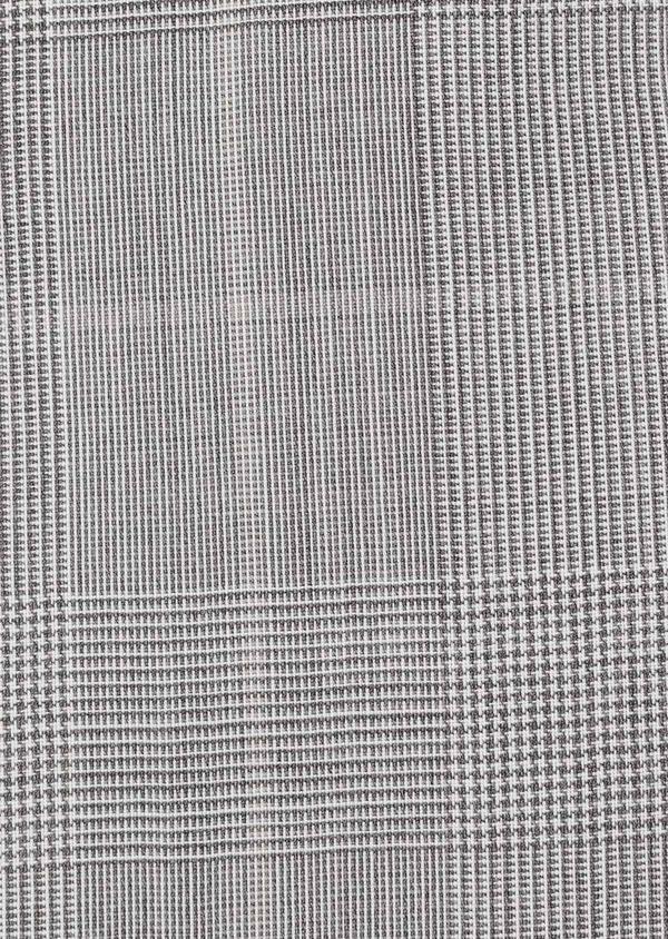 Gilet de costume en laine beige Prince de Galles - Father and Sons 33106