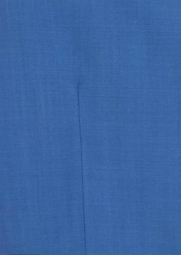 Gilet de costume en laine unie bleu azur - Father and Sons 36003