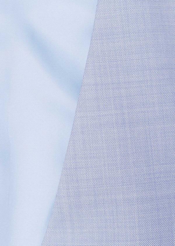 Gilet de costume en laine unie bleu ciel - Father and Sons 33081