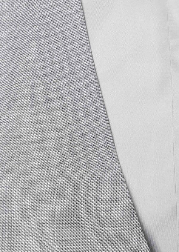 Gilet de costume en laine unie grise - Father and Sons 33101