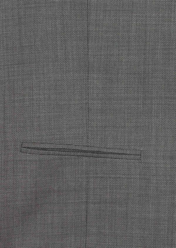 Gilet de costume en laine stretch naturelle unie grise - Father and Sons 35294