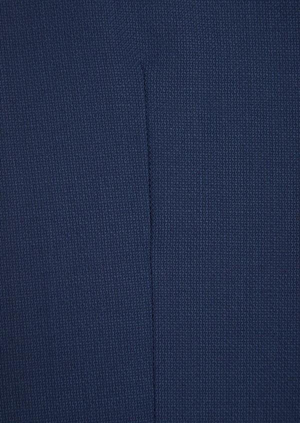 Gilet de costume en laine bleu indigo unie - Father and Sons 35812