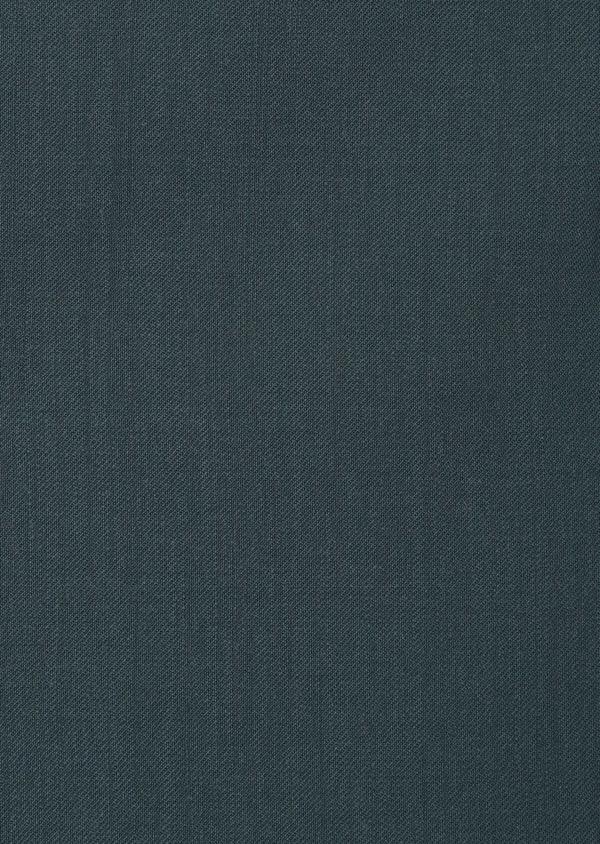 Gilet de costume en laine unie vert foncé - Father and Sons 33849