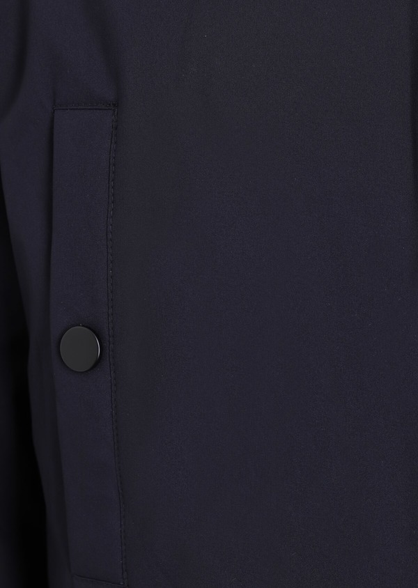 Trench droit 2 en 1 uni bleu marine - Father and Sons 35311