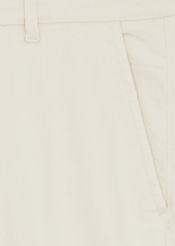Jean chino skinny en coton stretch beige - Father and Sons 38662