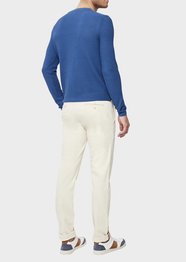 Jean chino skinny en coton stretch beige - Father and Sons 38664