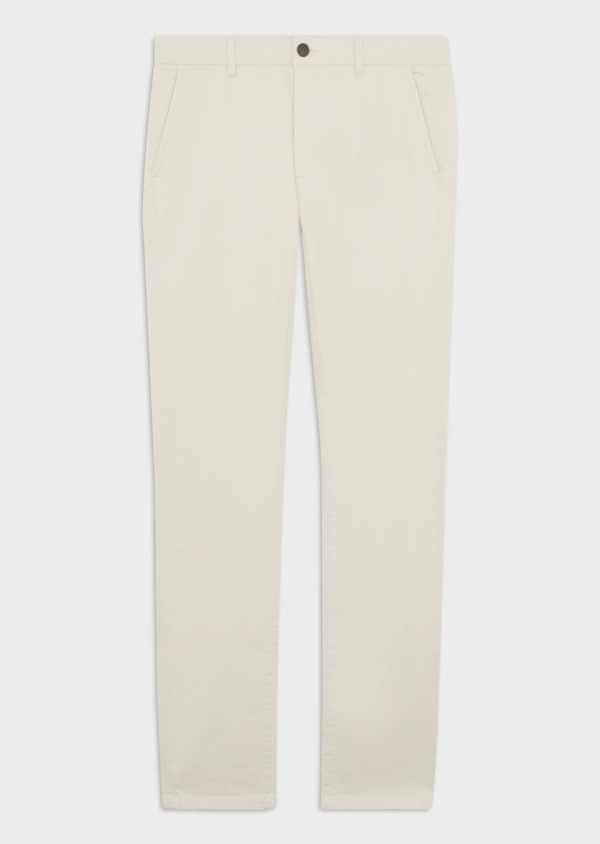 Jean chino skinny en coton stretch beige - Father and Sons 38661
