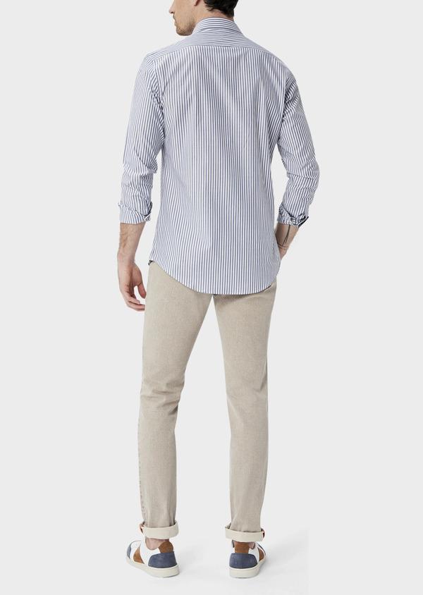 Jean skinny en coton stretch beige foncé - Father and Sons 39851