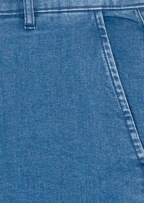 Jean chino skinny en coton stretch bleu indigo - Father and Sons 39449