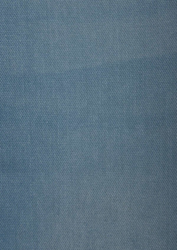 Jean skinny en coton mélangé stretch bleu chambray - Father and Sons 38669