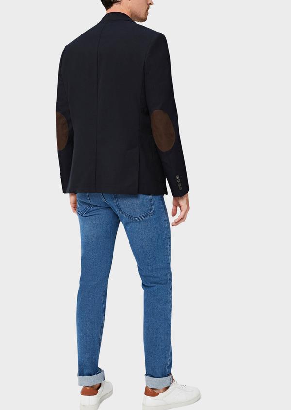 Jean skinny en coton stretch délavé bleu indigo - Father and Sons 40597