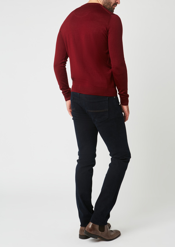 Jean skinny en coton marine - Father and Sons 27811