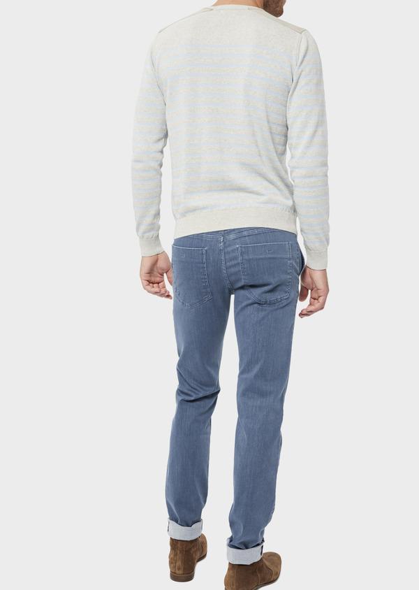 Jean skinny en coton organique bleu ciel - Father and Sons 36023