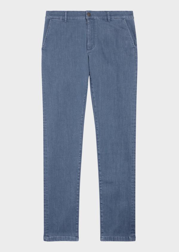 Jean skinny en coton organique bleu ciel - Father and Sons 36020