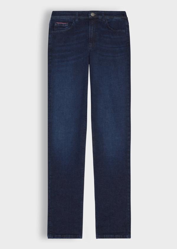 Jean skinny en coton stretch bleu indigo - Father and Sons 36706