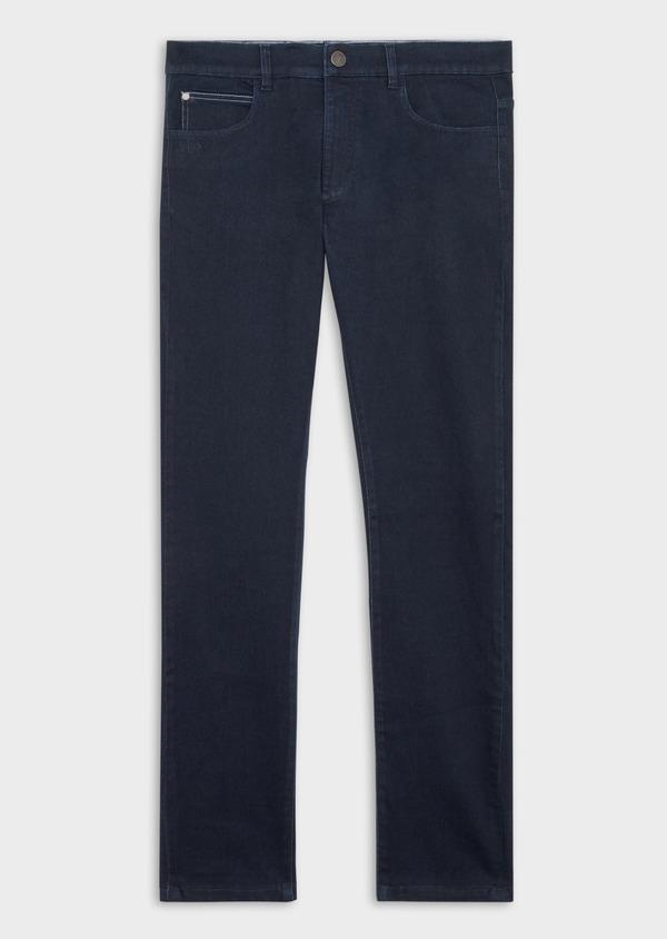 Jean skinny en coton mélangé stretch bleu marine - Father and Sons 38672