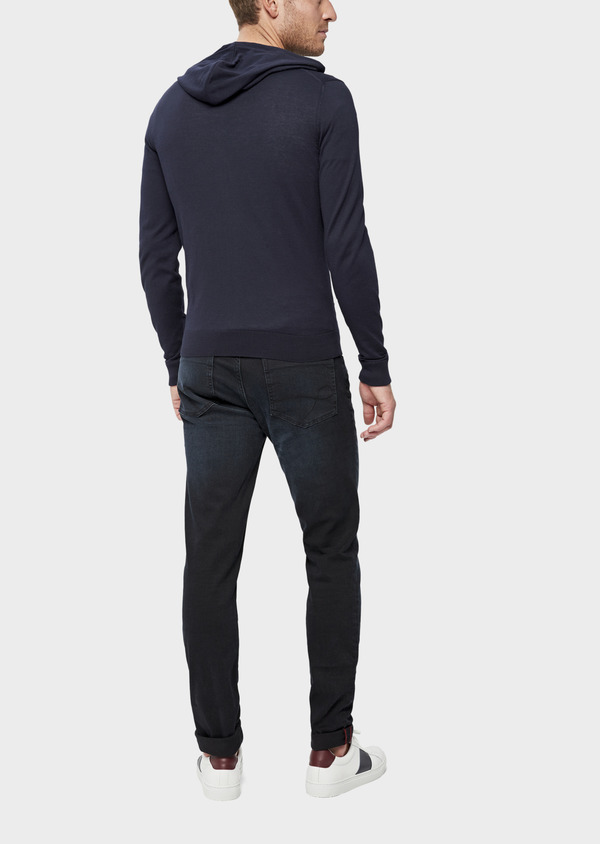 Jean skinny en coton stretch bleu marine - Father and Sons 38681