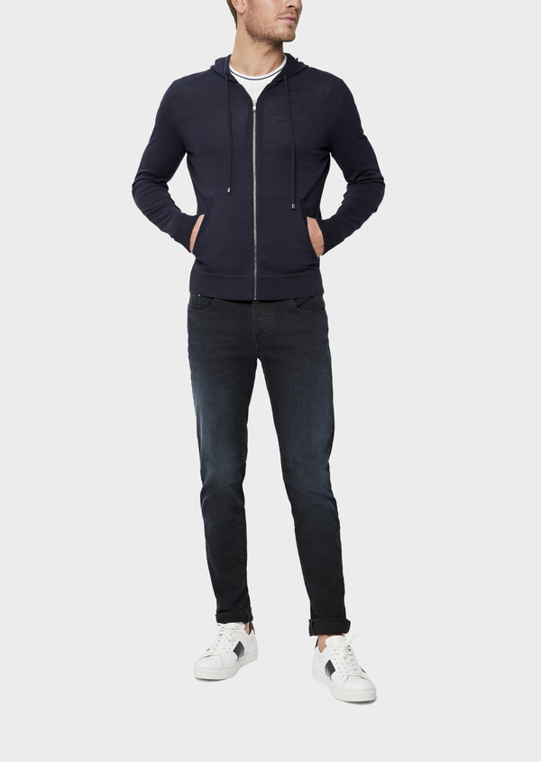 Jean skinny en coton stretch bleu marine - Father and Sons 38680