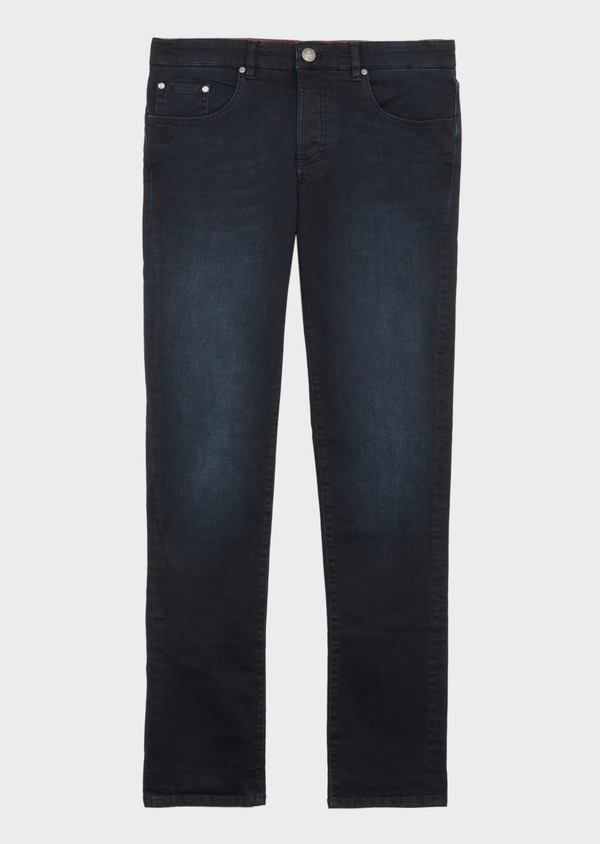 Jean skinny en coton stretch bleu marine - Father and Sons 38678