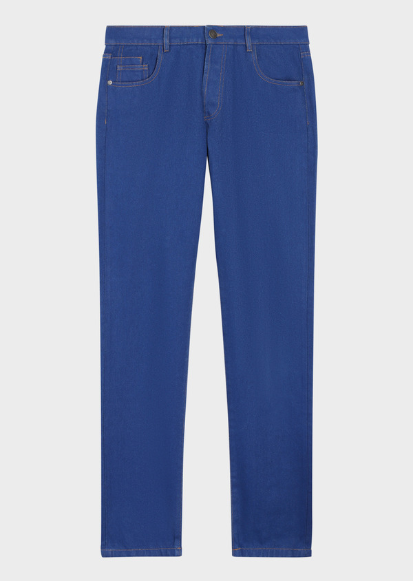 Jean skinny en coton bleu - Father and Sons 36028