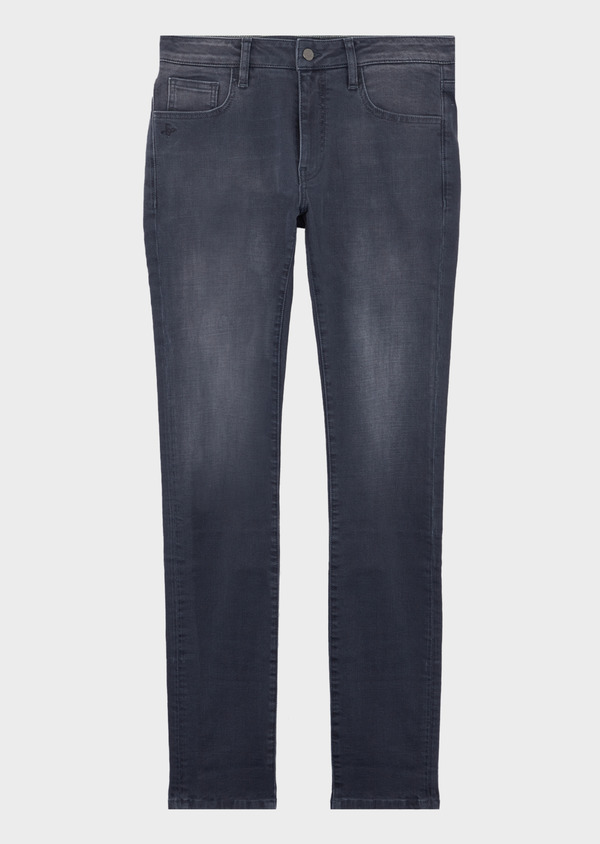 Jean skinny en coton stretch gris - Father and Sons 41570