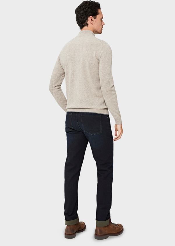 Jean skinny en coton stretch bleu marine - Father and Sons 41295
