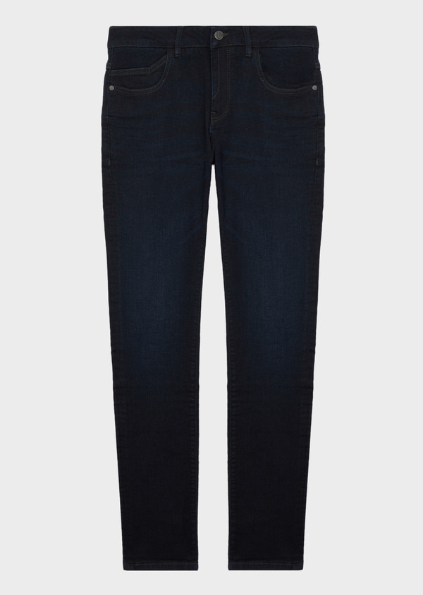 Jean skinny en coton stretch bleu marine - Father and Sons 41293