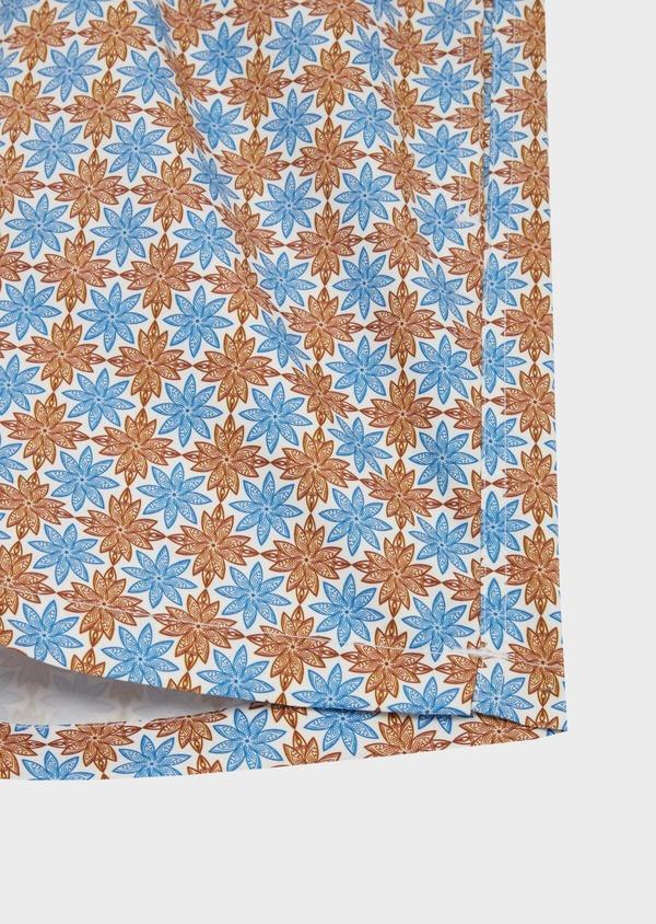 Maillot de bain à motif fantaisie bleu - Father and Sons 40405