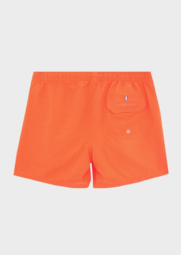 Maillot de bain uni orange - Father and Sons 40397