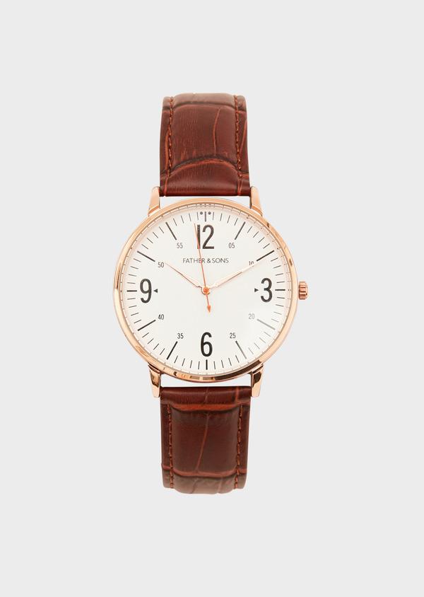 Montre bracelet cuir marron - Father and Sons 33207