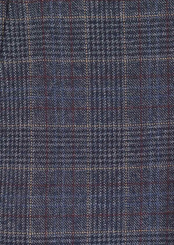 Pantalon coordonnable Skinny bleu indigo Prince de Galles - Father and Sons 35399