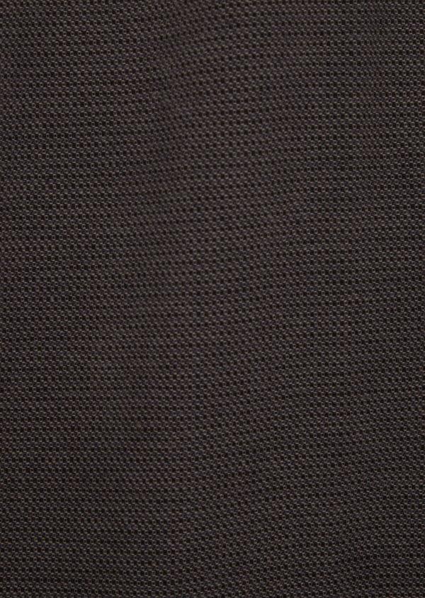 Pantalon casual skinny en coton stretch uni marron - Father and Sons 36140