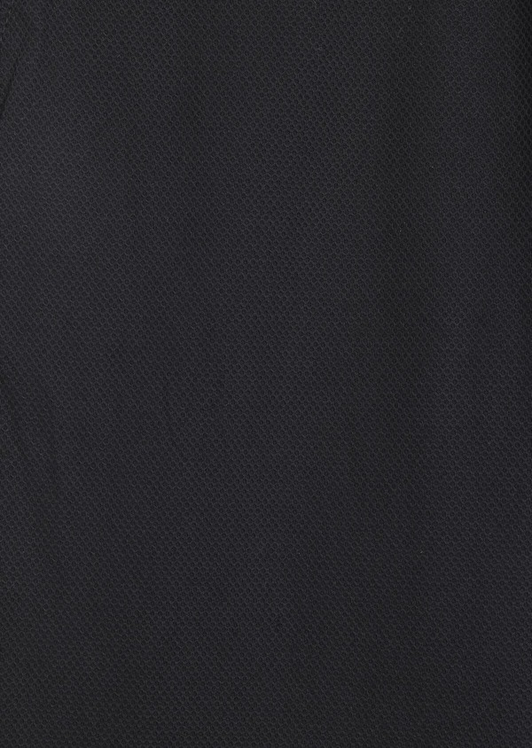 Pantalon casual skinny en coton stretch uni noir - Father and Sons 37166