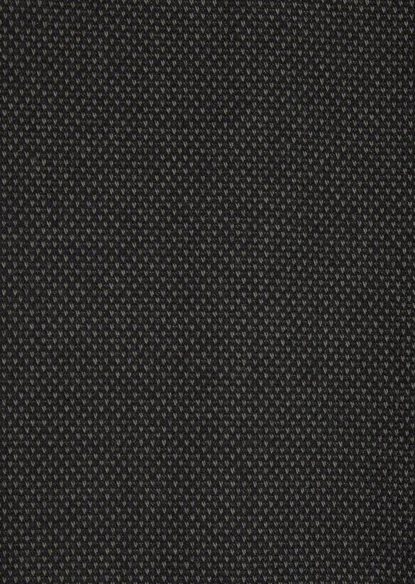 Pantalon coordonnable Slim en coton mélangé façonné à pois vert kaki - Father and Sons 36112