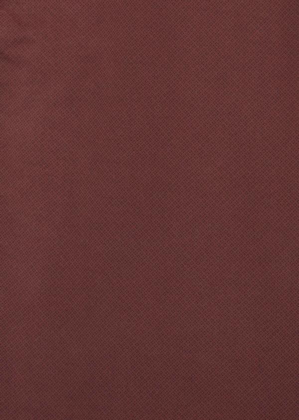 Pantalon casual skinny à motif fantaisie bordeaux - Father and Sons 36881