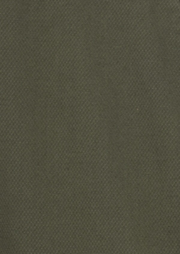 Chino Slack skinny en coton stretch uni vert kaki - Father and Sons 40646