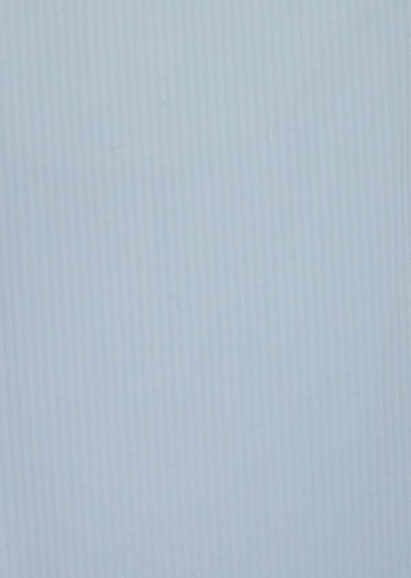 Pantalon casual skinny en coton stretch bleu ciel à rayures - Father and Sons 39865