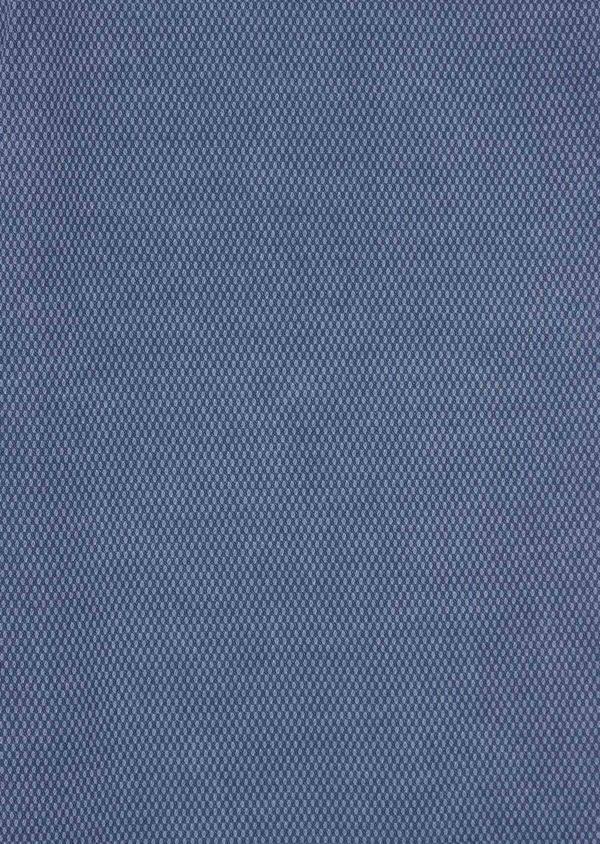 Chino slack skinny en coton stretch uni bleu - Father and Sons 38721
