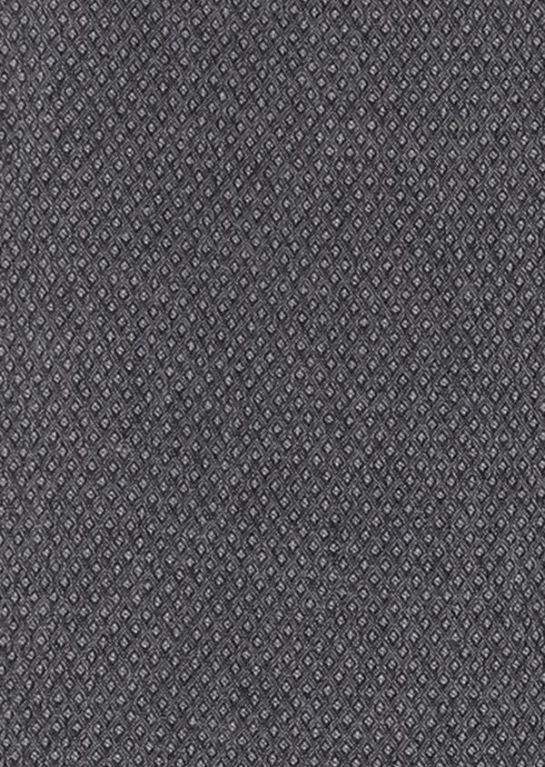 Pantalon coordonnable Slim en coton façonné uni gris - Father and Sons 27996